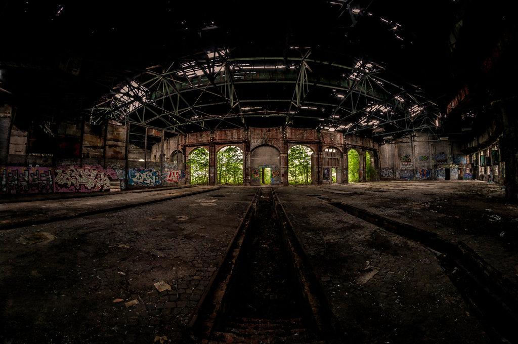 Besuche bei der Bahn
